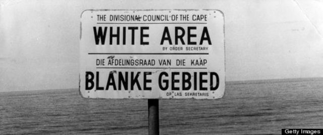 Begining of the Apartheid