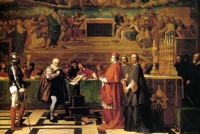 Galileo condenado por la inquisición