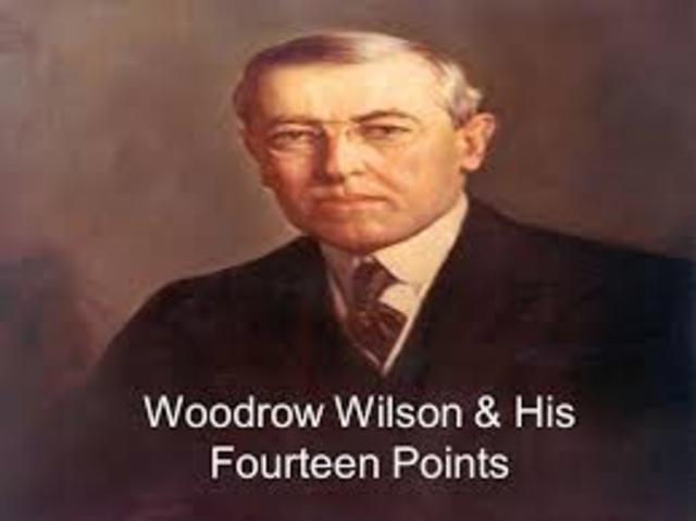 14 points woodrow wilson United states history grades 9-12 wilson's 14 points 3 engage following the study of the events leading up the involvement of the united states, students will study the events bringing an end to the war.