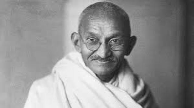 Gandhi Timeline | Timetoast timelines