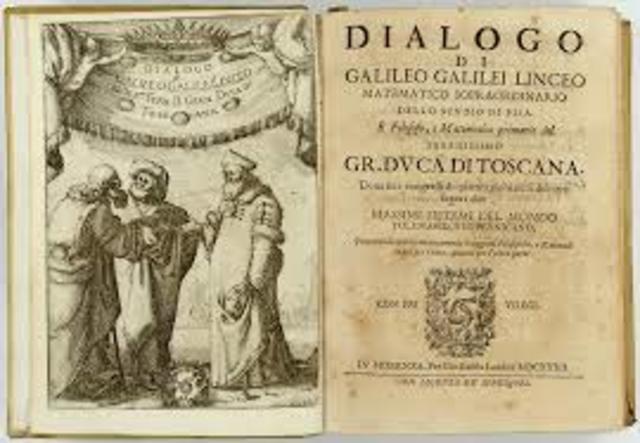 Galileo publica un libro prohibido.