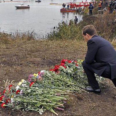 Крупные авиакатастрофы российских авиаперевозчиков timeline