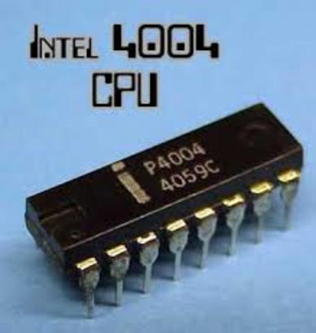 1971: El Intel 4004