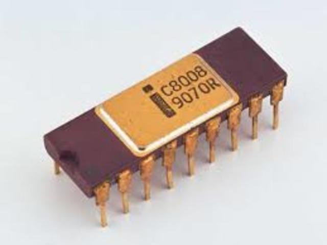 1972: El Intel 8008