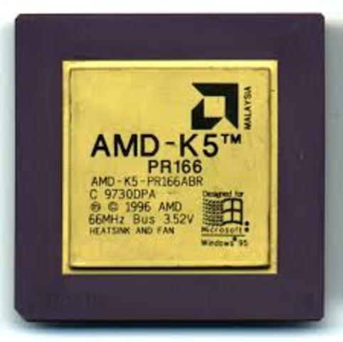 1996: El AMD K5