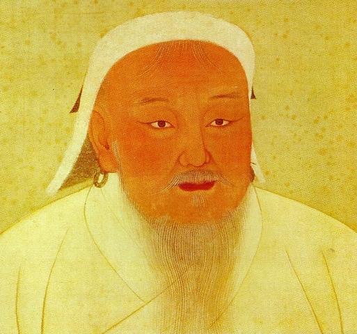 Genghis Khan Invades Eastern Asia
