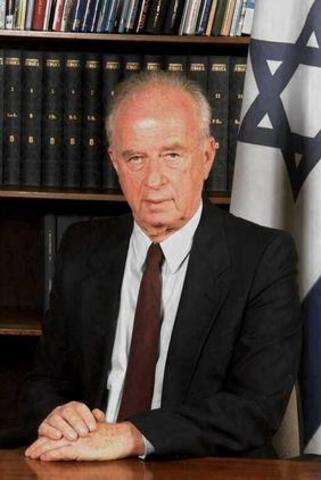 רבין נבחר להיות ראש ממשלת ישראל