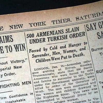 The Armenian Genocide - Francesko Ymeri timeline