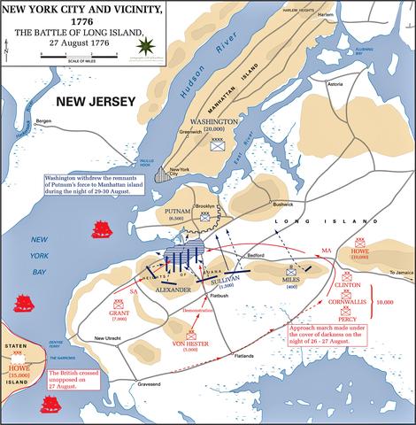 Battle Of Long Island Aug