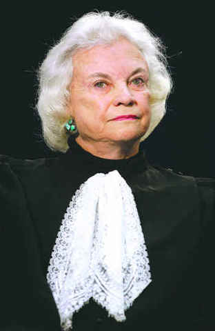 Sandra Day O'Connor came into office