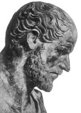 Aristotle Travels to Mytilene