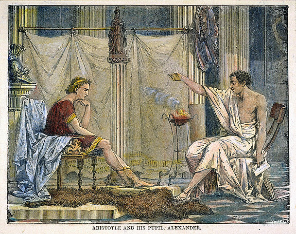 Starts Tutoring Alexander the Great