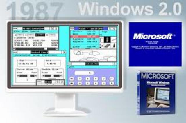 1987 Windows versión 2.0