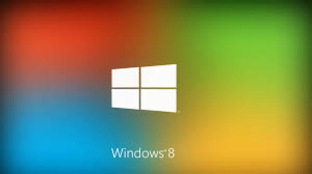 2012 WINDOWS 8