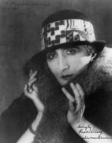 Rose Sélavy (Marcel Duchamp) by Man Ray, 1921