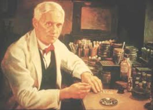 Descubrimiento de la penicilina e invención de los antibióticos