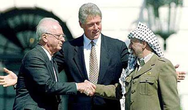 Oslo Accords are Signed