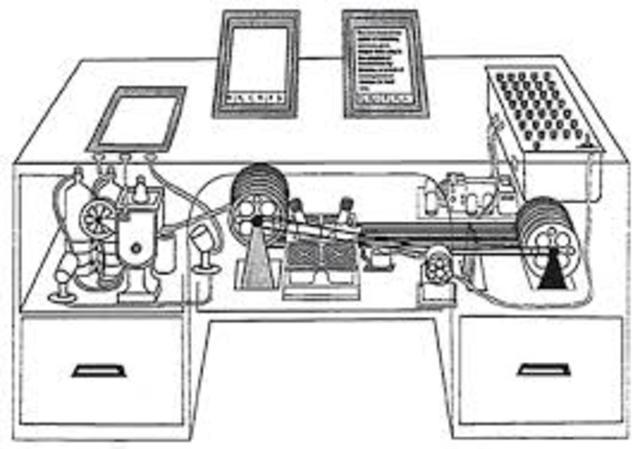 diseño interior del memex