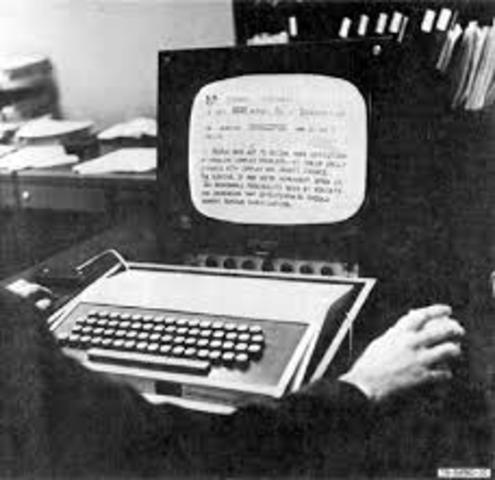 NLS de Douglas Engelbart