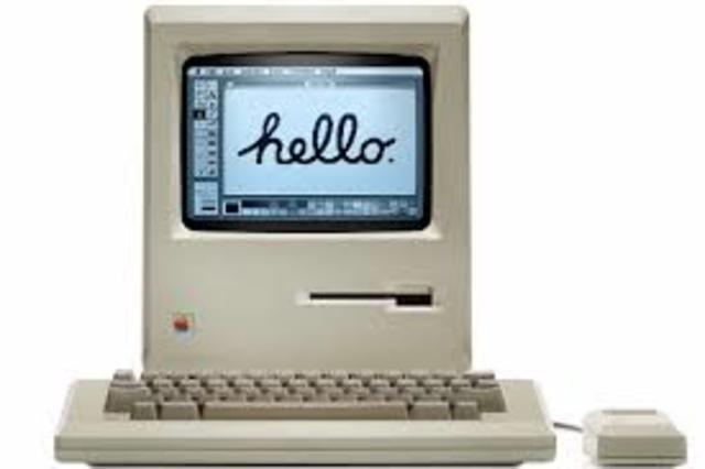 Apararicion de la Macintosh