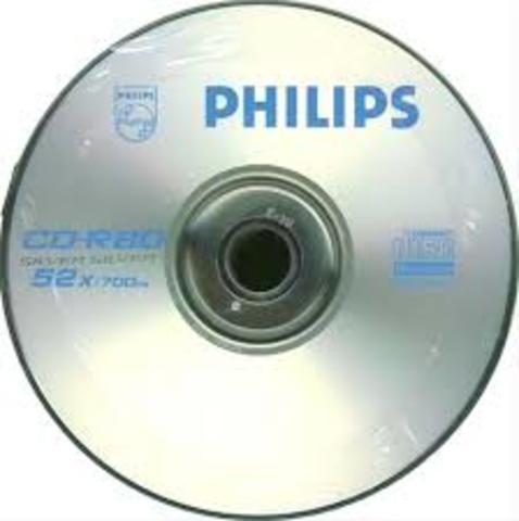 Nacimiento del disco compacto