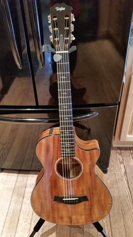 2010 Taylor 12-fret all-Hawaiian Koa guitar