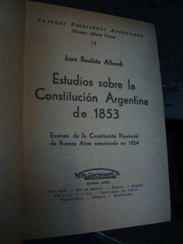 Reforma constitucional 1898 argentina