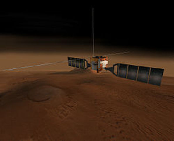 First Saturn orbiter and first Titan