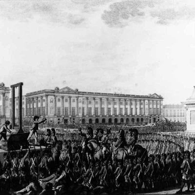 Le basculement de la Monarchie vers la 1ère République en France timeline