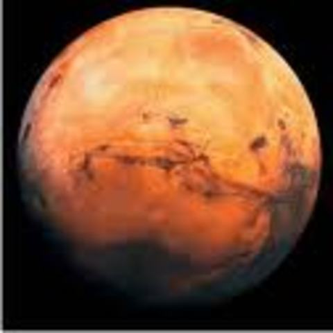 First Mars Flyby