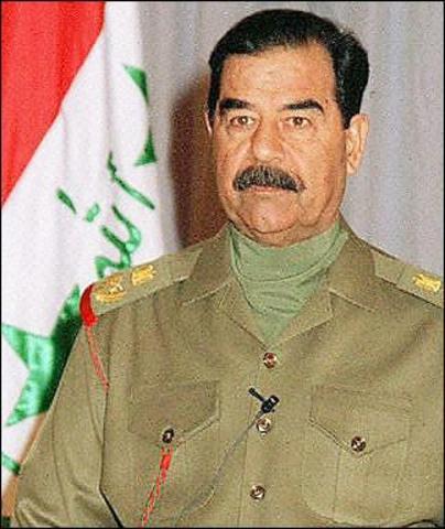 Saddam Hussein invades