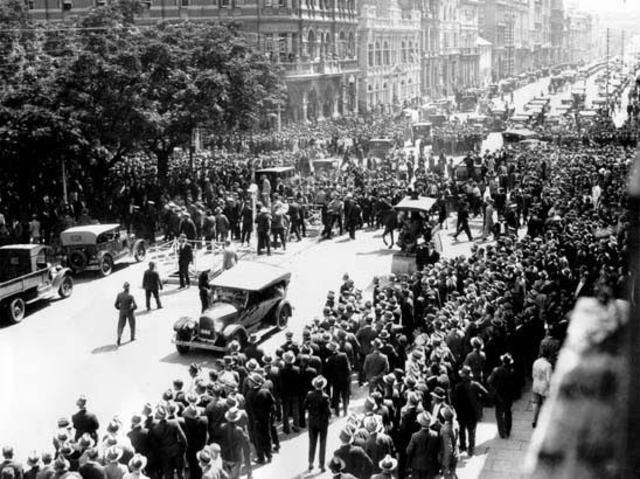 The Great Depression Began