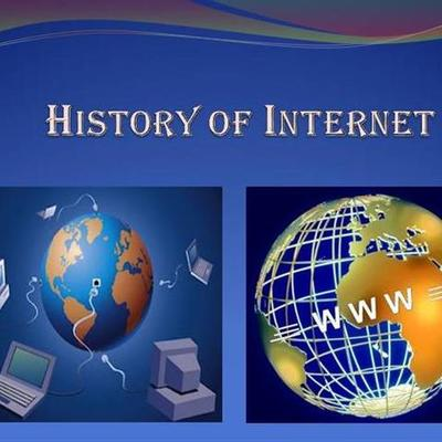 THE HISTORY OF INTERNET timeline