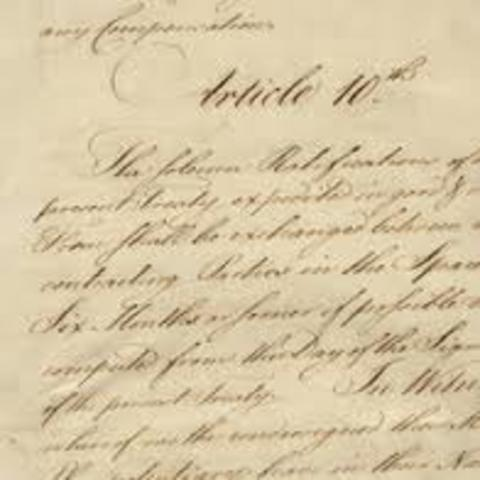 What were the terms of the treaty of paris 1783