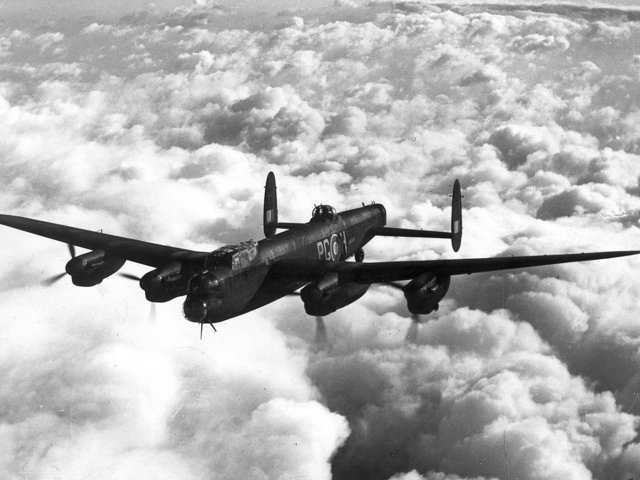 World War two bomber