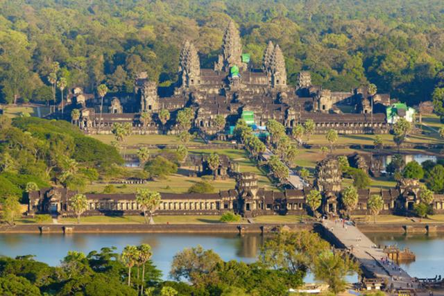 Construction of Angkor wat