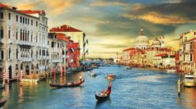O Cavaleiro parte para Ravena e segue para Veneza.