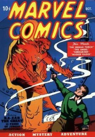 Marvel Comics #1 released