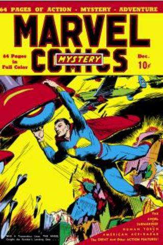 Marvel Comics rechristened Marvel Mystery Comics with issue #2