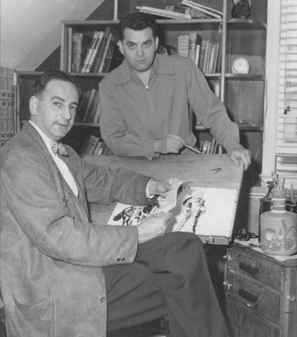 Joe Simon and Jack Kirby leave for DC Comics