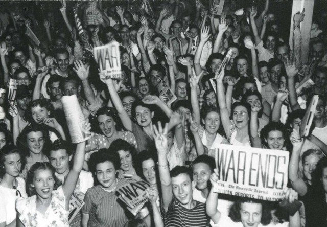 World War II ends