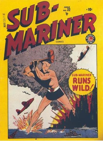 Sub-Mariner Comics Cancelled at #32