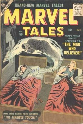 Marvel Mystery Comics becomes Marvel Tales