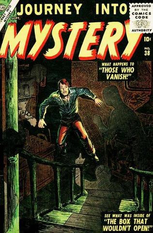 Thor appears in Journey into Mystery #38
