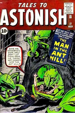 Ant-Man appears in Tales to Astonish #27