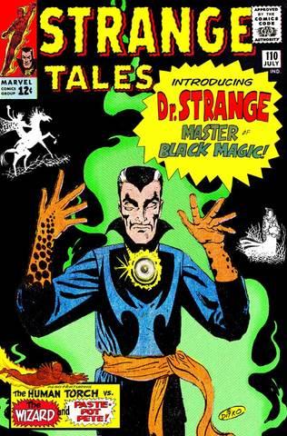 Dr.Strange appears in Strange Tales #110
