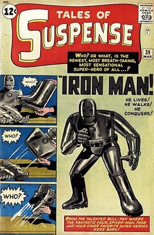 Iron Man appears in Tales of Suspense #39