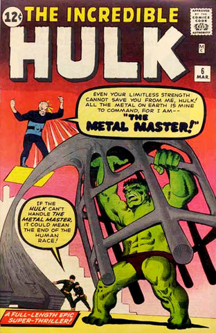 Incredible Hulk cancelled after issue #6