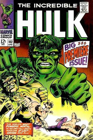Tales to Astonish retitled The Incredible Hulk after issue #102