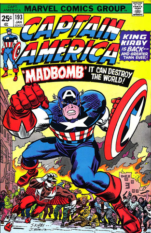 Jack Kirby returns to Marvel